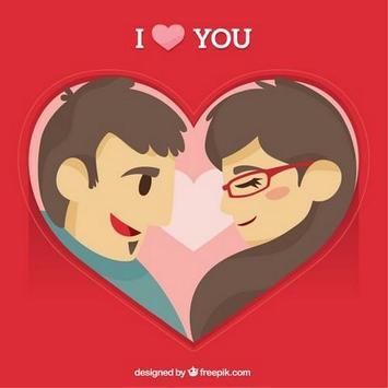 Love ecard poster