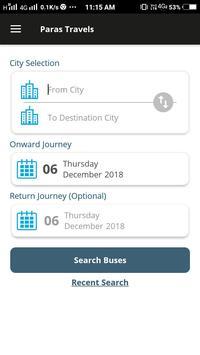 Paras Travels screenshot 5
