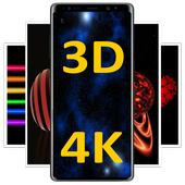 3D Black Wallpapers icon