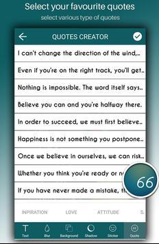Quotes Creator screenshot 4