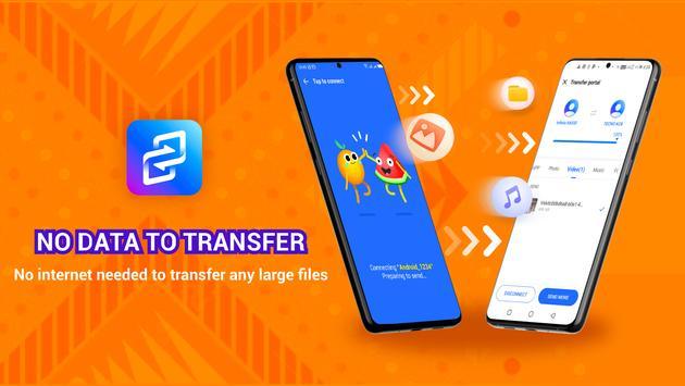 XShare - Transfer & Share all files without data captura de pantalla 5