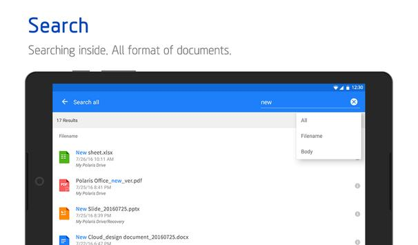 Polaris Office screenshot 21