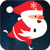 Stickman Santa Christmas Run icon