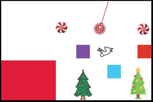 Stickman Santa Christmas Run screenshot 4