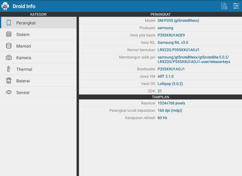 Droid Hardware Info screenshot 13