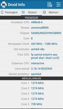 Droid Hardware Info screenshot 1