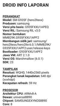 Droid Hardware Info screenshot 2