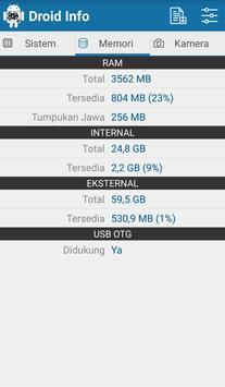 Droid Hardware Info screenshot 4