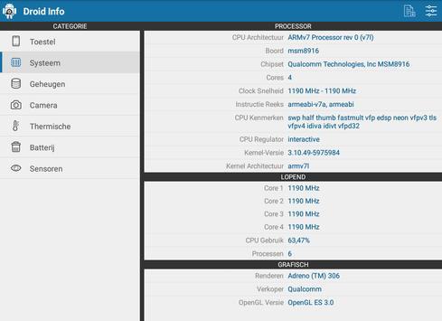 Droid Hardware Info screenshot 14