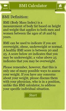 Diet Plus-Multiple Health Calc screenshot 1
