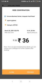 InOffice - An AI Based Commute Assistant screenshot 4