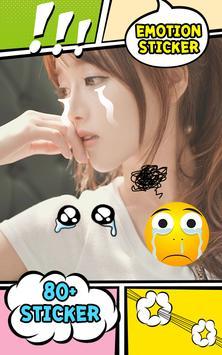 Emoji Sticker ShiiOvrlays screenshot 1