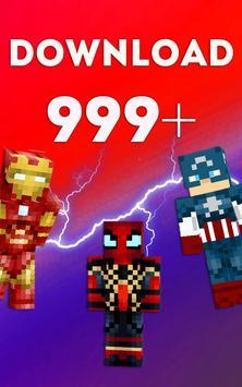 Avengers Skins poster