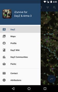 iZurvive - Map for DayZ & Arma screenshot 15