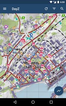 iZurvive - Map for DayZ & Arma screenshot 16