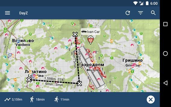 iZurvive - Map for DayZ & Arma स्क्रीनशॉट 10