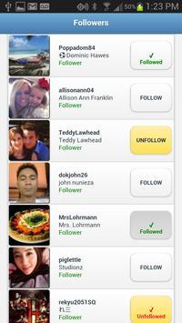 Followers+ imagem de tela 1