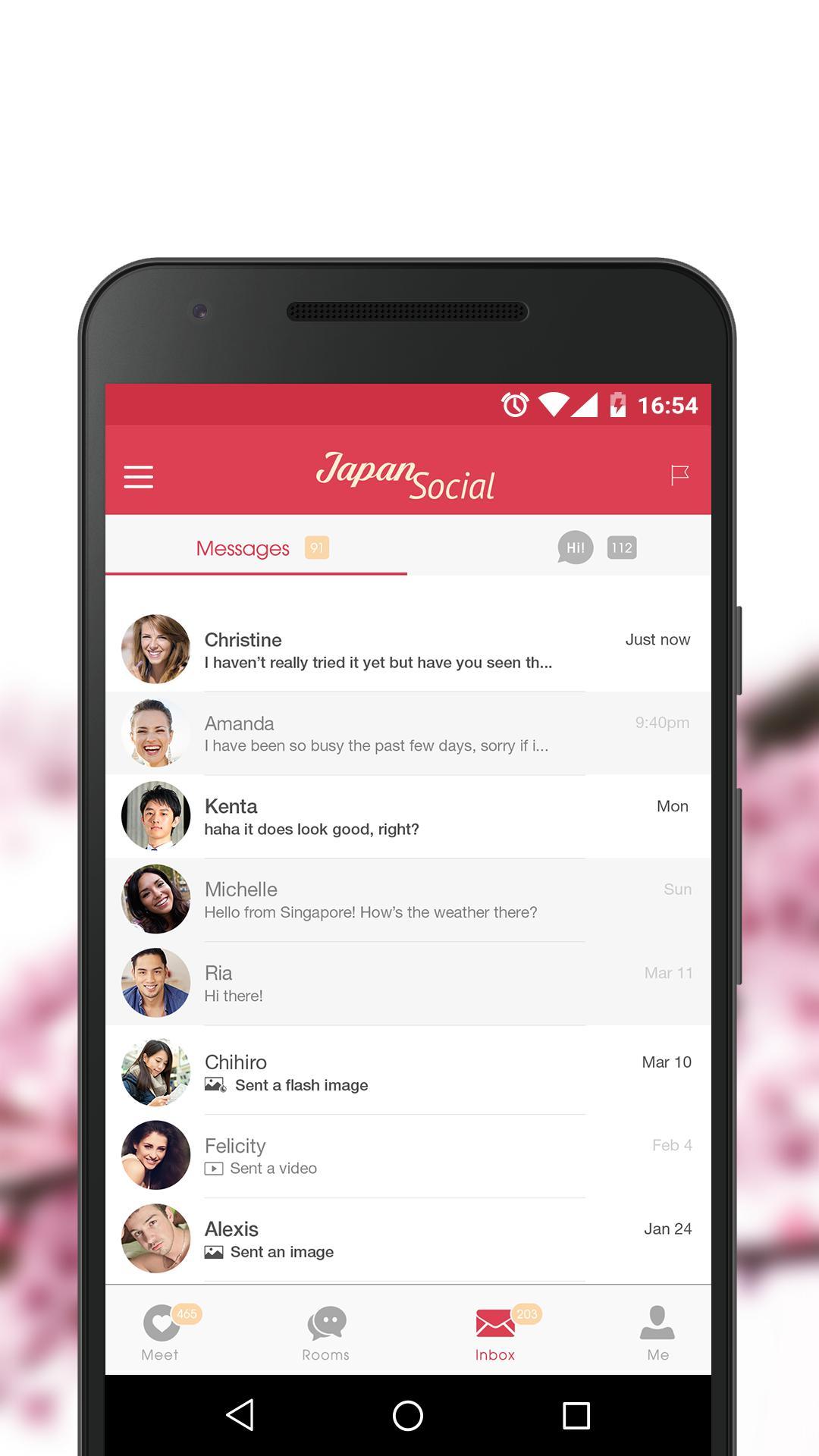 japonia app dating social)