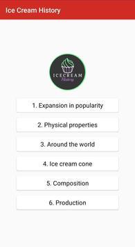Ice Cream History screenshot 1