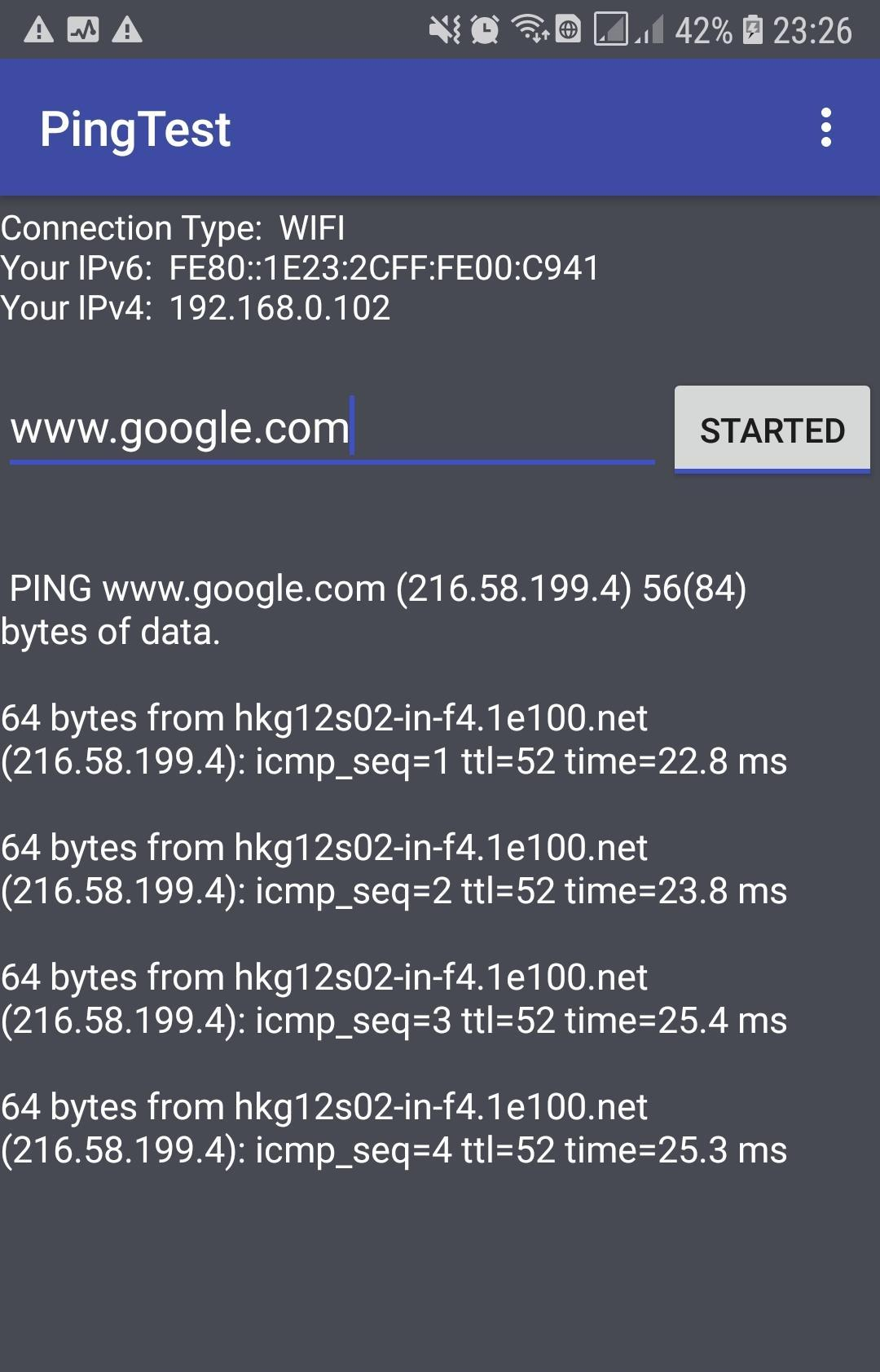 Ping Test for Android   APK Download