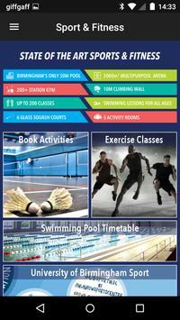 UB Sport&Fitness poster