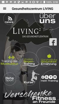 Fitnessclub LIVING poster