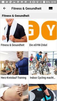 Fitnessclub LIVING screenshot 1