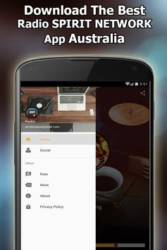 SPIRIT RADIO NETWORK Online Free Australia screenshot 2