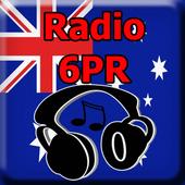 Radio 6PR Online Free Australia icon