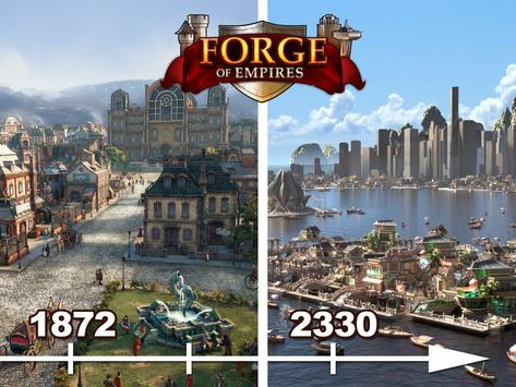 Poster Forge of Empires