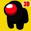 Black Imposter 3D ikon