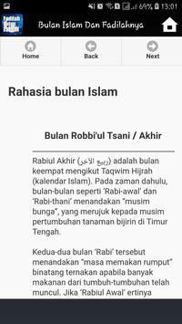 Bulan Bulan Dalam Islam Dan Fadilahnya screenshot 3