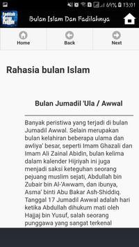 Bulan Bulan Dalam Islam Dan Fadilahnya screenshot 4