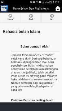 Bulan Bulan Dalam Islam Dan Fadilahnya screenshot 5