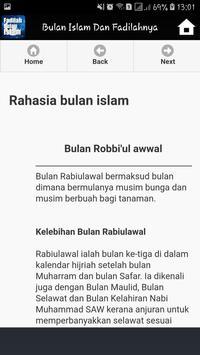 Bulan Bulan Dalam Islam Dan Fadilahnya screenshot 8