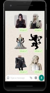WAStickerApps - Game of Throne Sticker Pack Poster