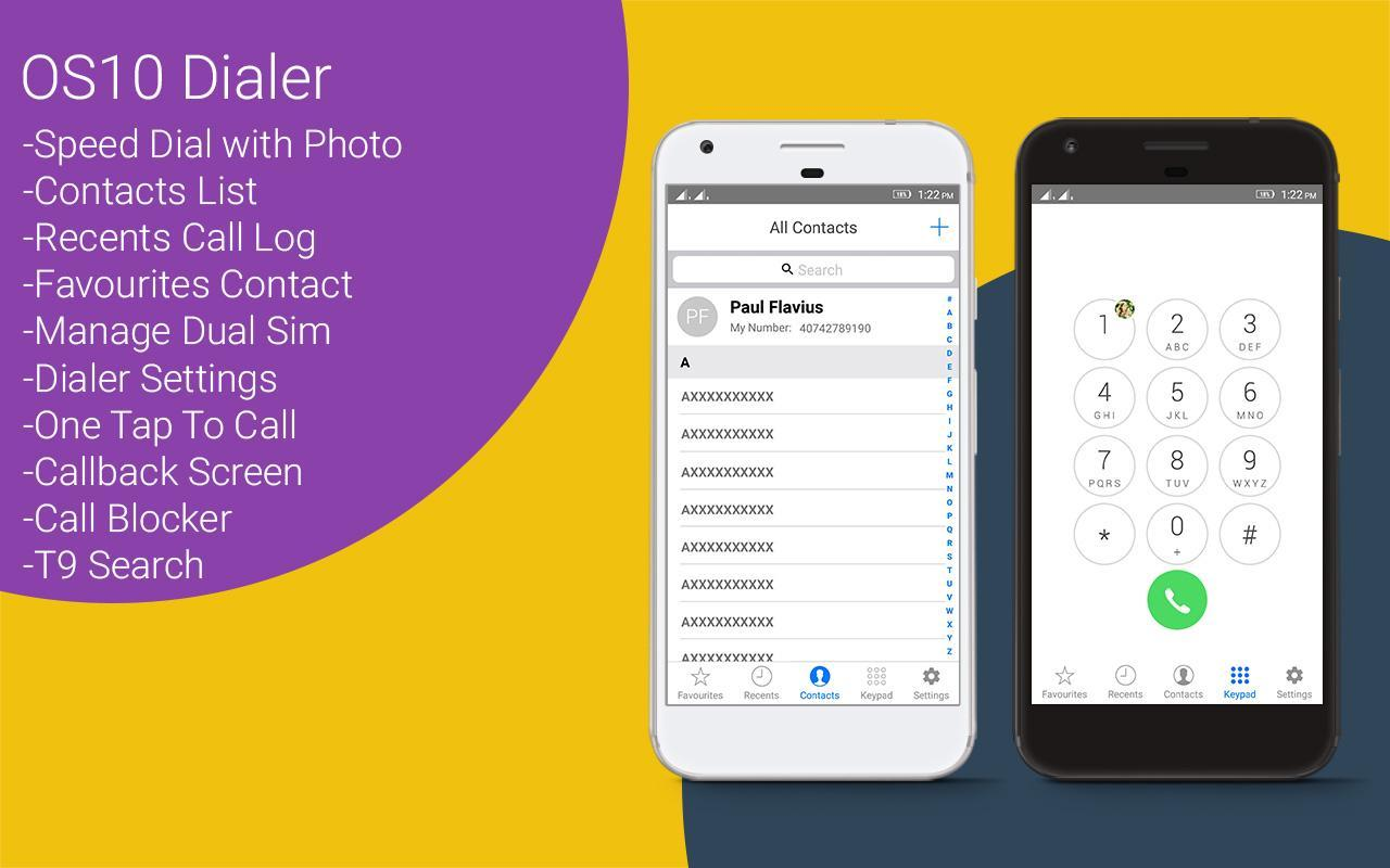 i Call Screen - OS10 Dialer for Android - APK Download