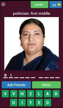 Nepali People Quiz poster
