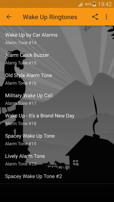 wake up wake up alarm tone