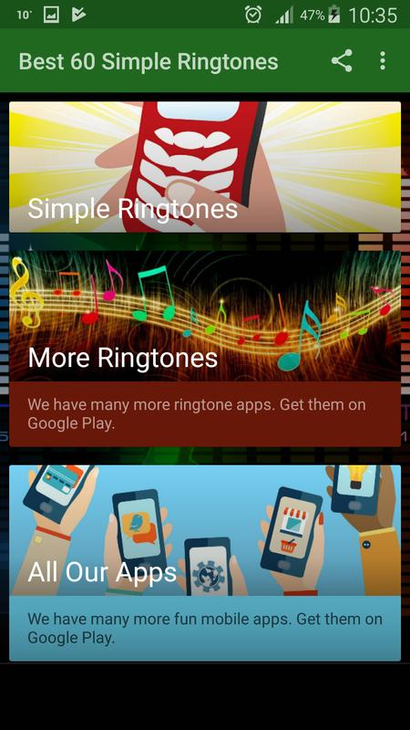 Best 60 Simple Ringtones