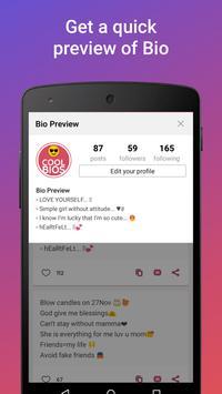 Cool Bio Quotes Ideas 스크린샷 3