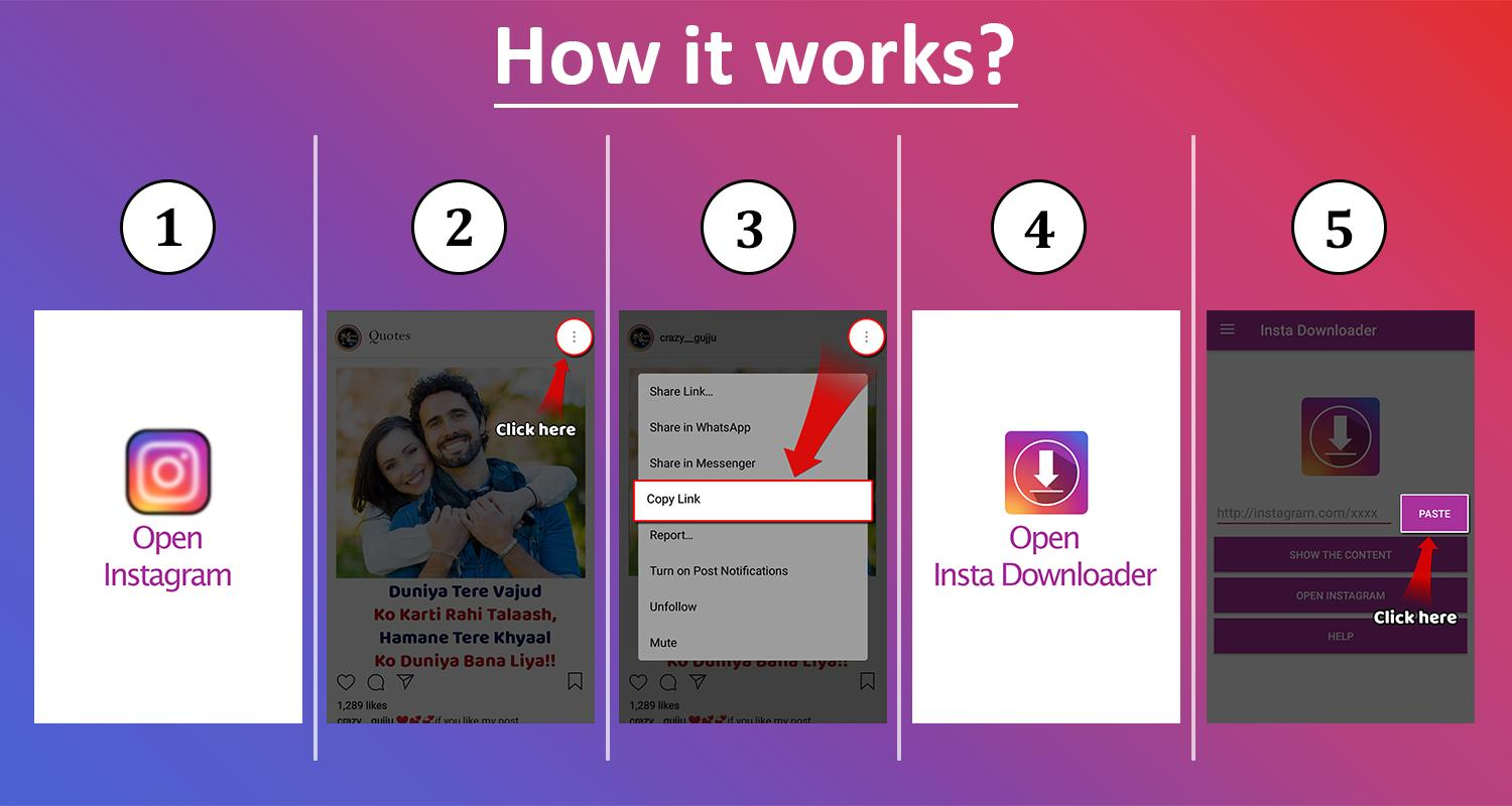 InstaSaver - Image & Video Download for Instagram for Android - APK