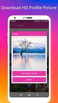 Profile Picture Downloader for Instagram screenshot 10