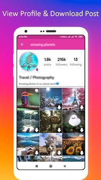 Profile Picture Downloader for Instagram screenshot 1