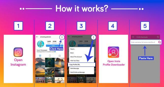 Profile Picture Downloader for Instagram screenshot 7