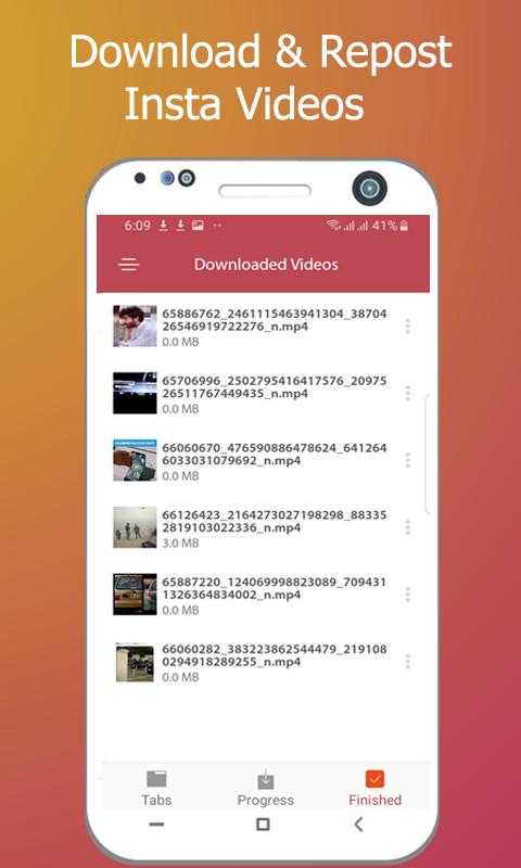 Downloader for insta-Download free videos & Status for Android - APK
