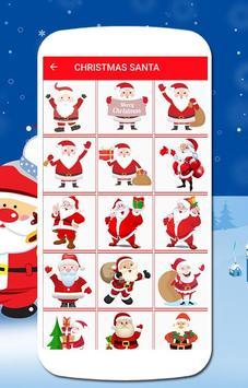 Santa emoji screenshot 4