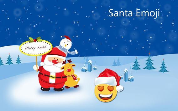 Santa emoji screenshot 5