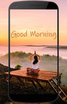 Good morning gif poster