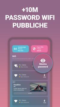 Poster Password WiFi e hotspot gratis da Instabridge
